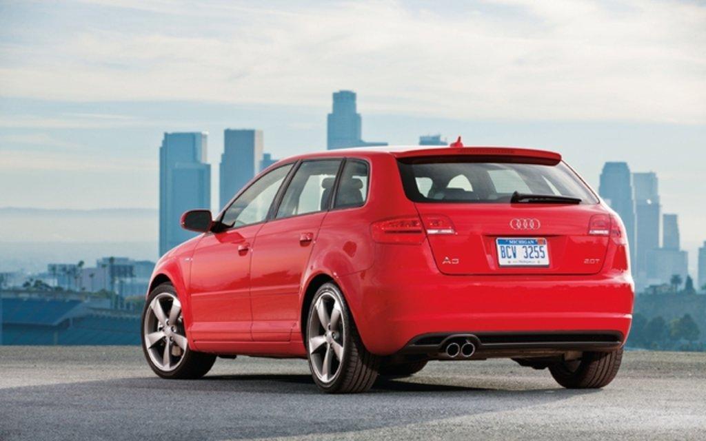 Najwyższej jakości tłumik końcowy firmy Ragazzon do Audi A3 2013