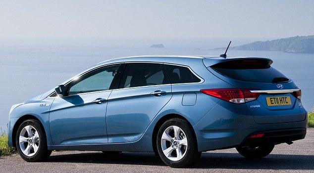 Tłumik końcowy firmy Ernst do Hyundai I40 2012